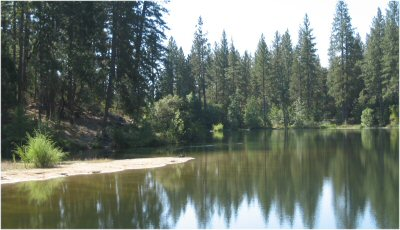 Manzanita Lake, North Fork